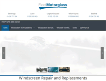 Tablet Preview of fleetmotorglass.co.uk